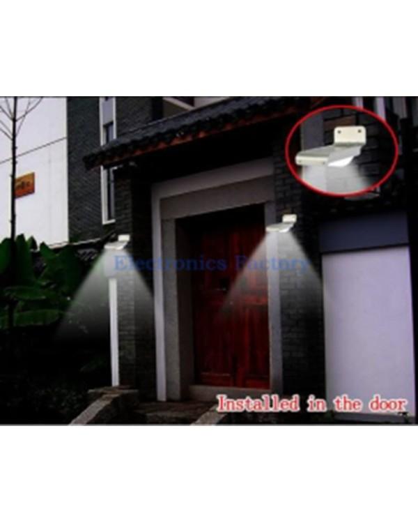 Солнечная светодиодная лампа со звуком