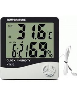 Будильник + термометр