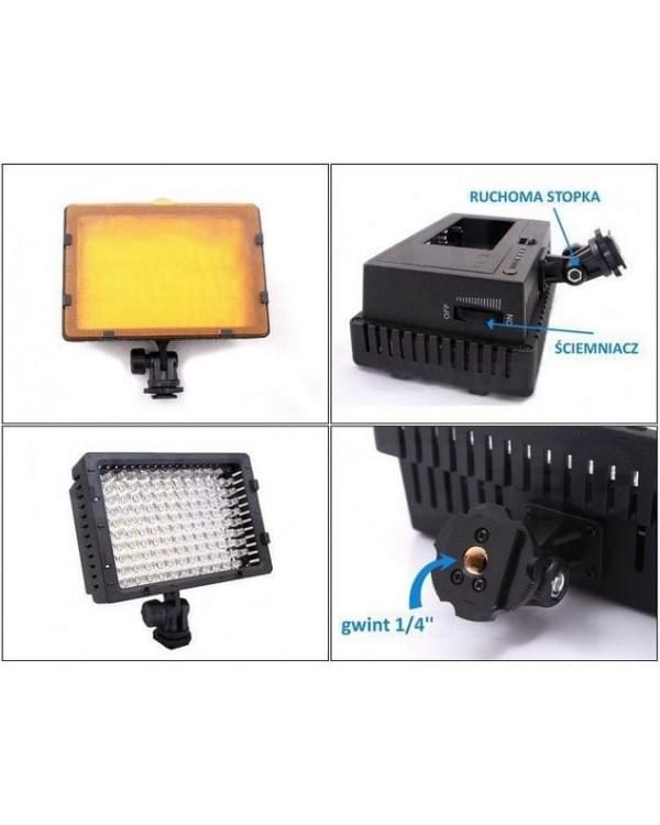 Фонарь LED CN-126 для фотокамер