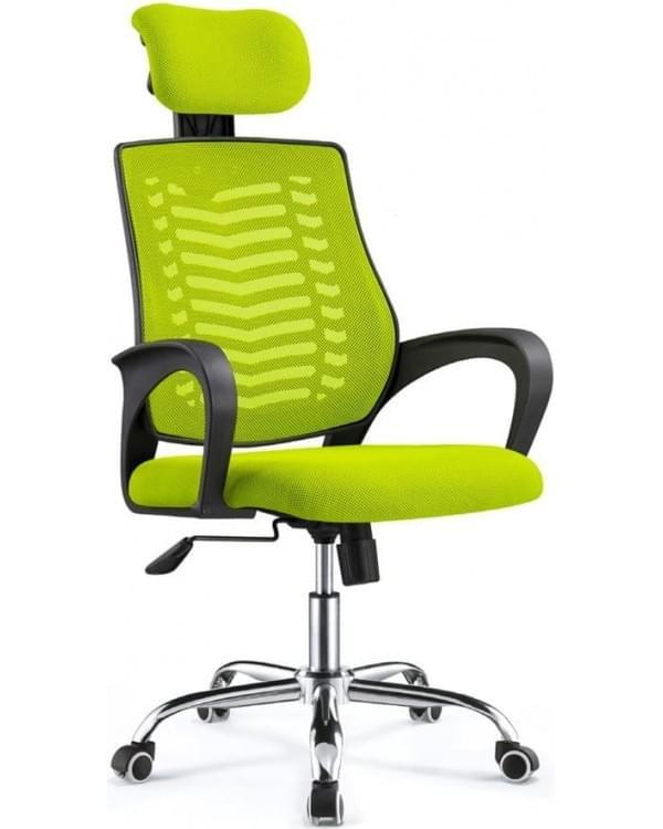 Офисный стул с подголовником - модель Salsa