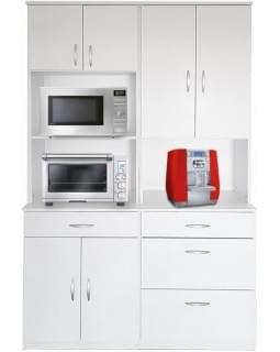 Большой шкаф для двух микроволновок - модель 4008